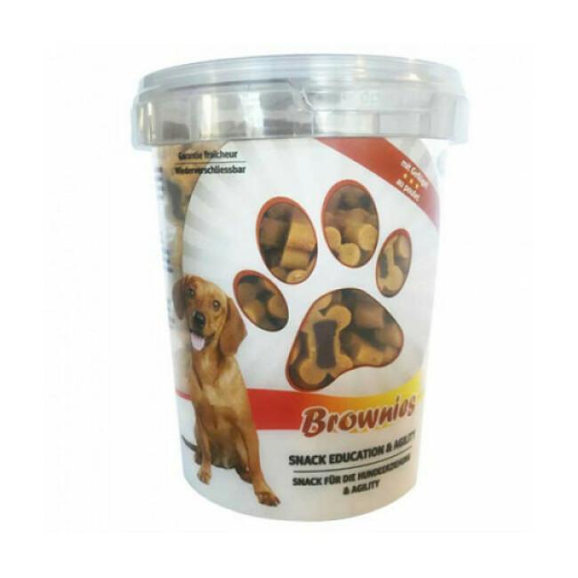 Seau de friandises Brownies saveur poulet pour chien
