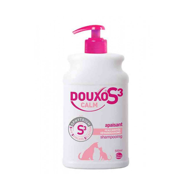 Shampoing anti-démangeaisons pour chien et chat Calm Douxo S3