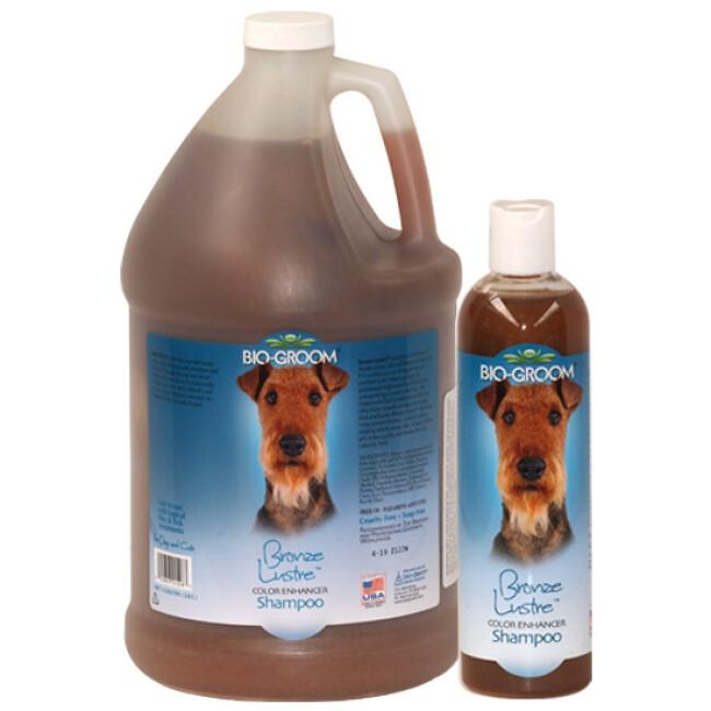 Shampoing Bio Groom colorant Bronze lustré pour poil chien et chat