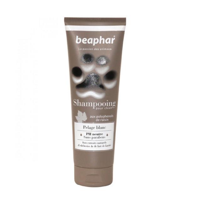 Shampoing colorant pelage blanc Empreinte de Béaphar pour chien