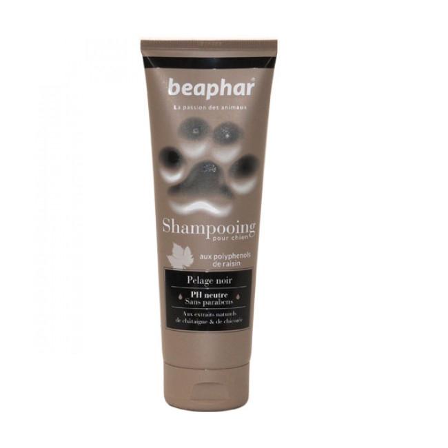 Shampoing colorant pelage noir Empreinte de Béaphar pour chien