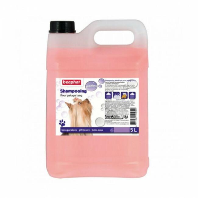 Shampoing démêlant antistatique 2 en 1 Béaphar pour chien et chat