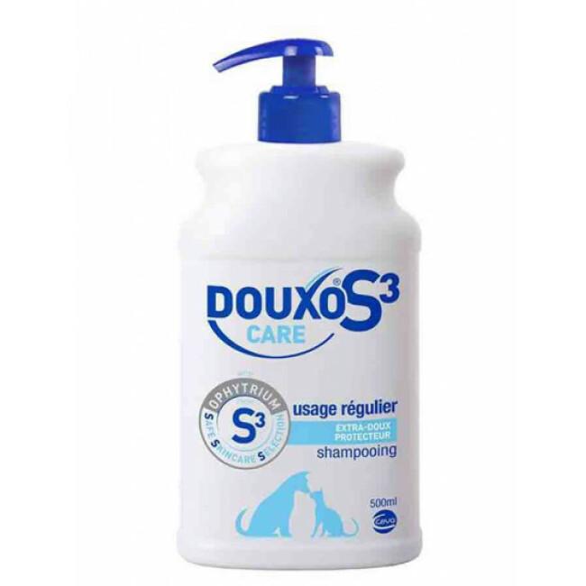 Shampoing entretien démêlant Douxo S3 Care pour chien et chat