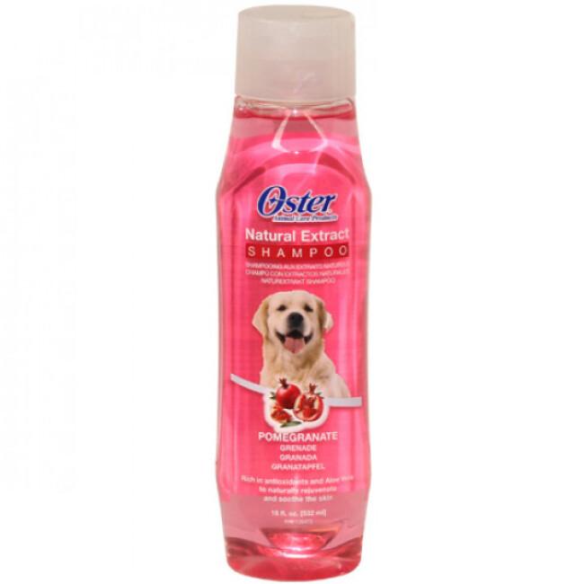 Shampoing grenade rajeunir et apaiser la peau Natural Oster pour chien et chat