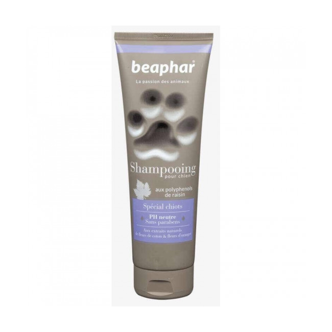 Shampoing naturel spécial chiot Beaphar 250 ml