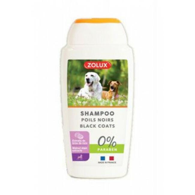 Shampoing pour chien à poils noirs Zolux 250 ml
