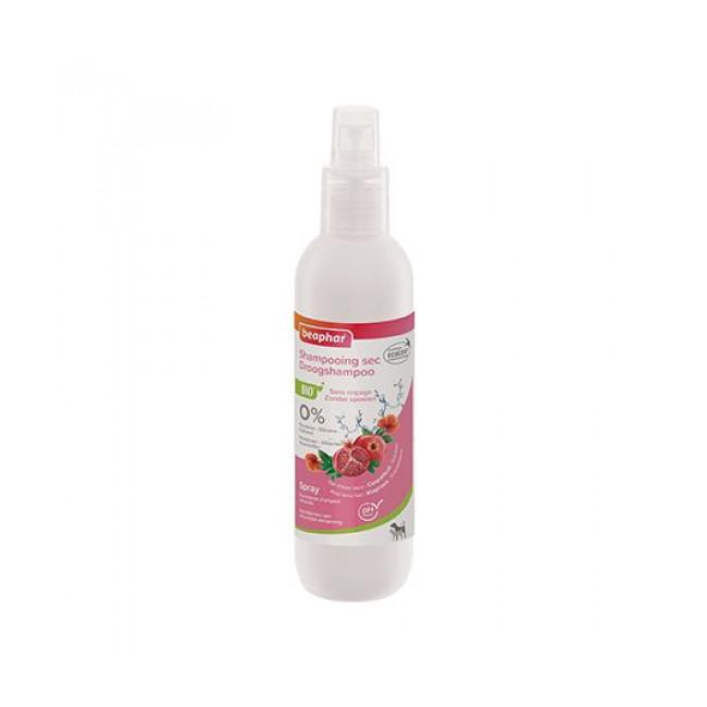 Shampoing sec Bio spray sans rinçage pour chien et chat Beaphar