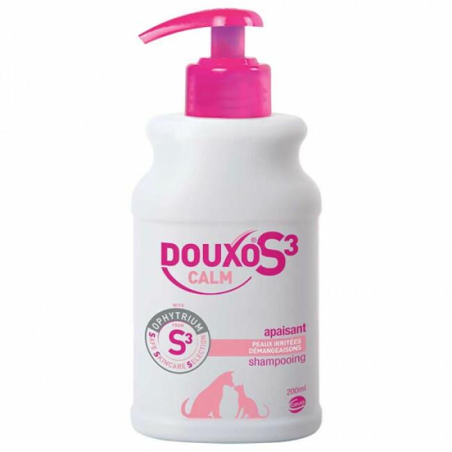 Shampooing Douxo S3 Calm anti-démangeaisons pour chien et chat