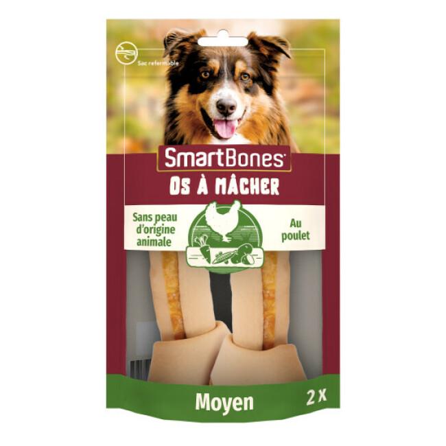 SmartBones Medium os à mâcher au poulet pour chiens de taille moyenne
