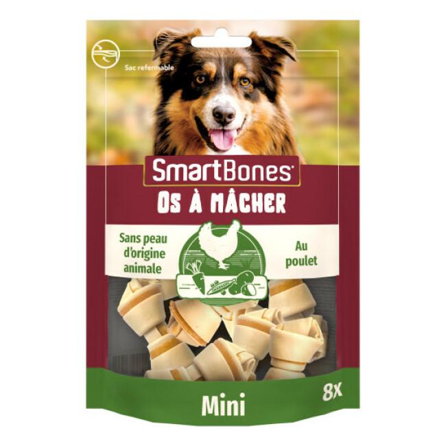 SmartBones Mini os à mâcher au poulet pour chiens de petite taille