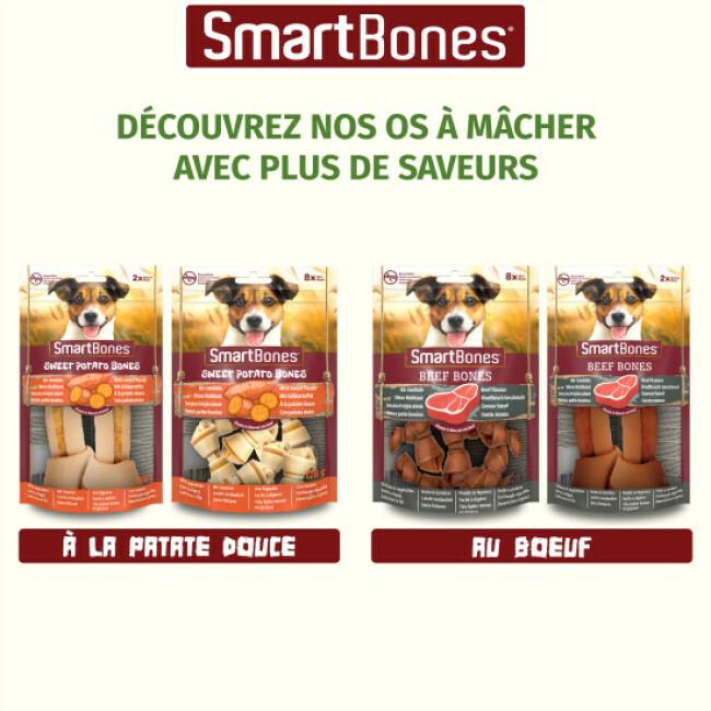 SmartBones Wrapped Sticks bâtonnets à mâcher enrobés au poulet