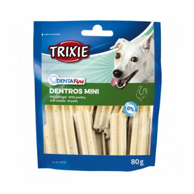 Snacks dentaires Dentros Mini pour chien Denta Fun