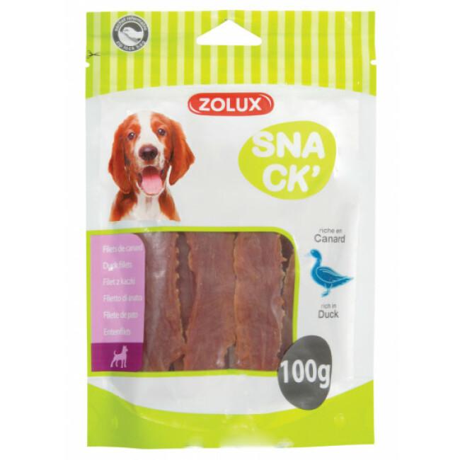 Snacks filets de canard pour chien Zolux