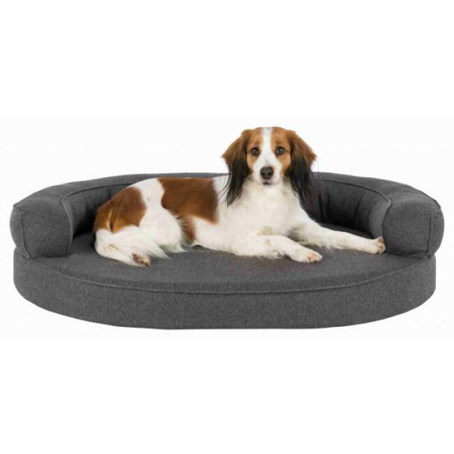 Sofa confortable pour chien gris Florentina Trixie