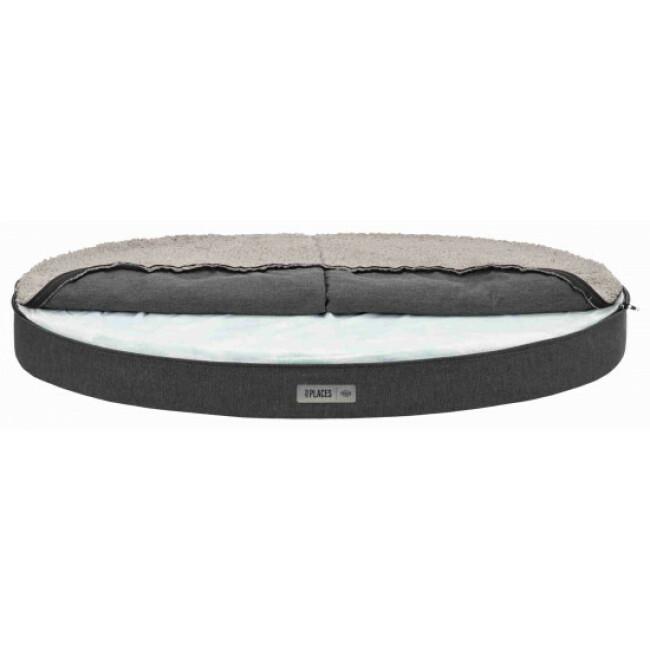 Sofa ovale à mémoire de forme pour chien Bendson Trixie
