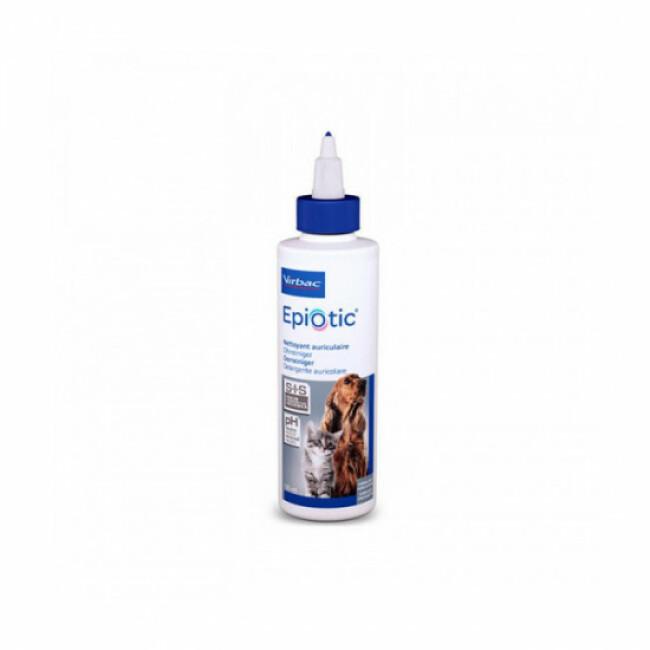 Soin et hygiène auriculaire pour chien et chat Epi-otic