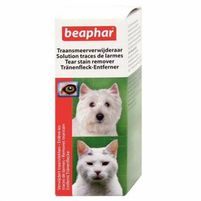 Solution contre les traces de larmes pour chien et chat Beaphar
