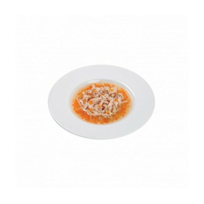 Soupe en sachet pour chat Schesir