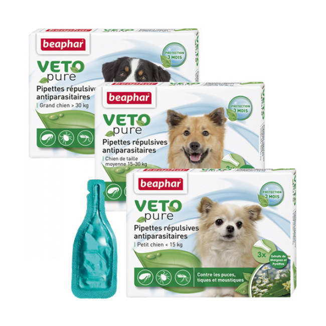 Spot On Véto-Nature insectifuge pour chien