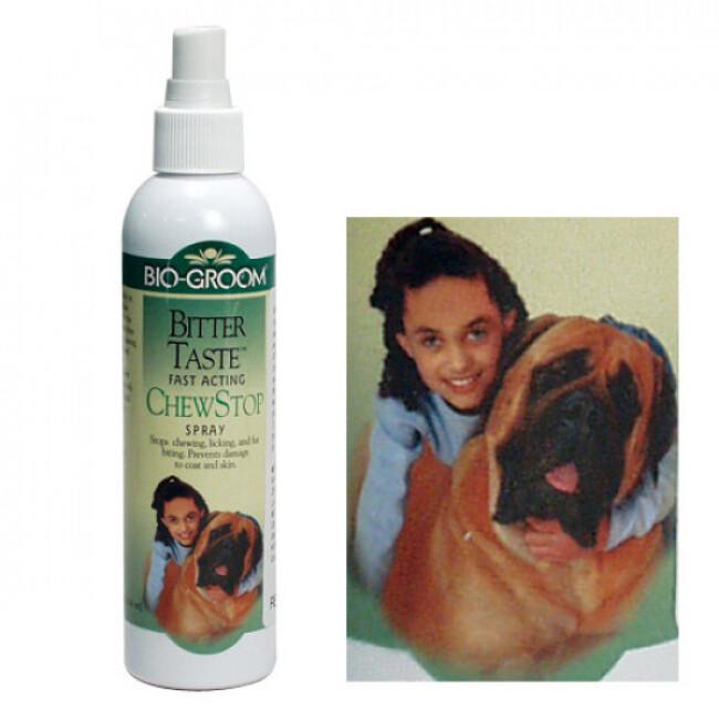 Spray anti mordillage pour chien et chat