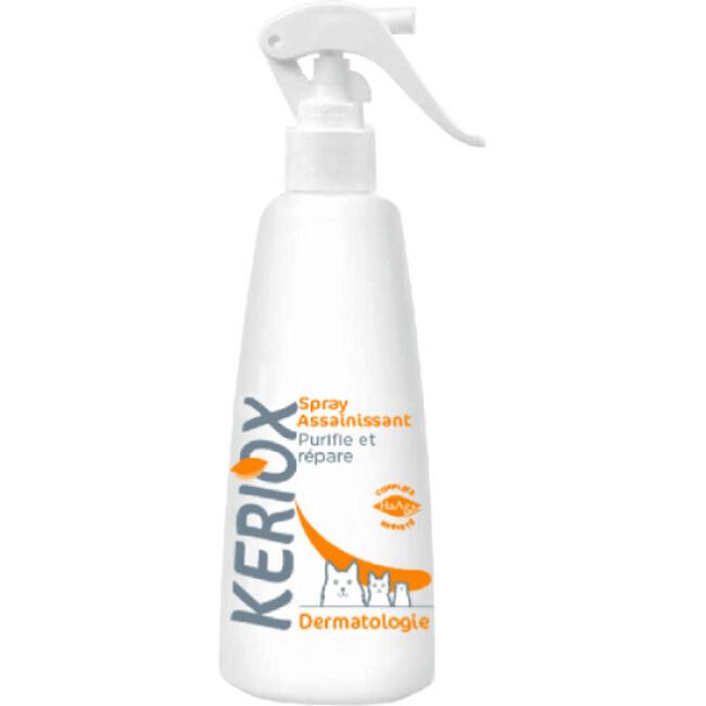 Spray assainissant Keriox pour chien et chat