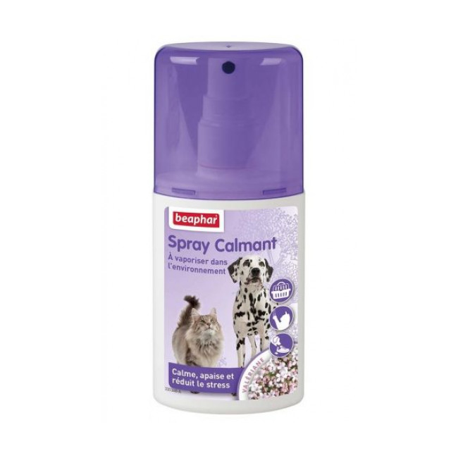 Spray calmant à vaporiser dans l'environnement pour chat et chien Beaphar