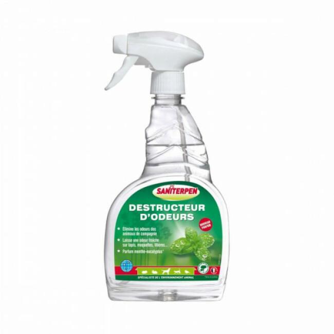 Spray destructeur d'odeurs animales Saniterpen 750 ml