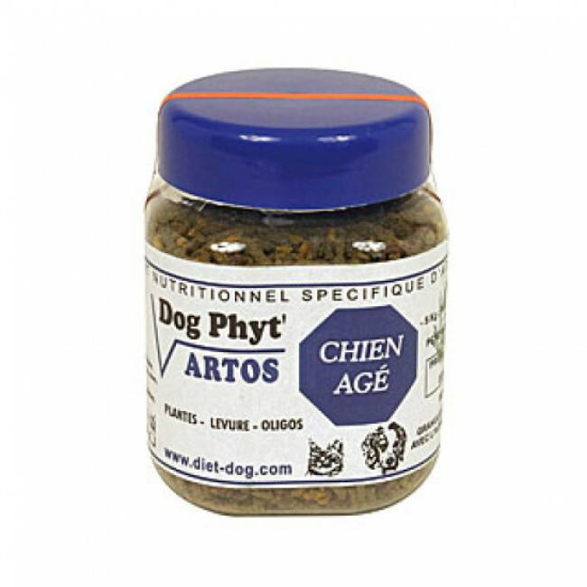 Supplément nutritionnel contre l'arthrose pour chien senior Artos Diet Dog