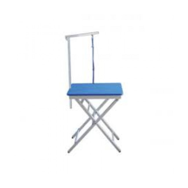 Table de toilettage pliante portable en aluminium