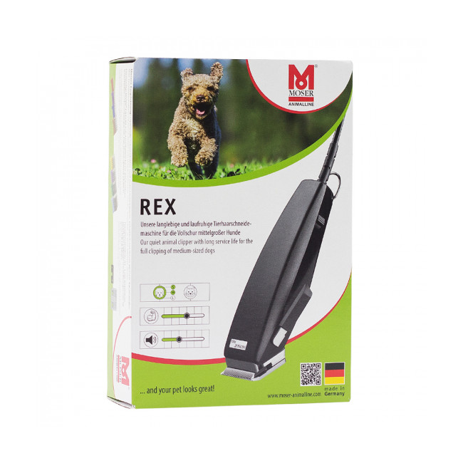 Tondeuse pour chien et chat Rex 1230 Moser