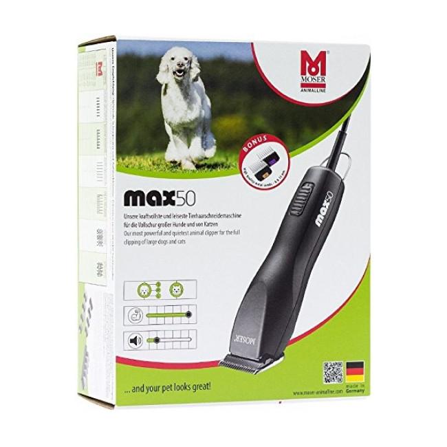 Tondeuse pour chien et chat Moser Max 50