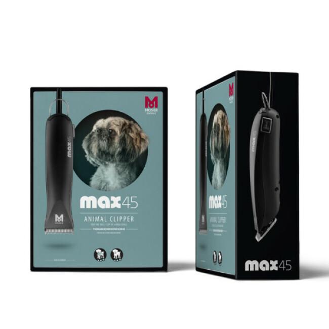 Tondeuse Pro Moser 1245 MAX 45 pour chien et chat