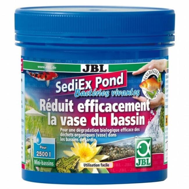 Traitement anti vase JBL SediEx Pond pour bassin 250 g