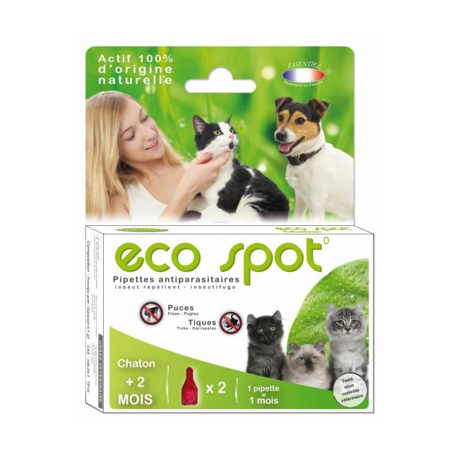 Traitement antiparasitaire pour chat Essential Eco Spot