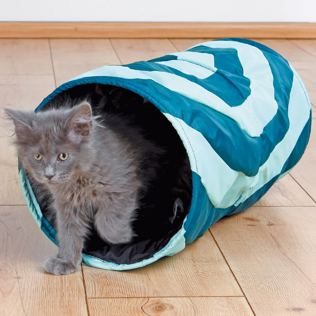 Tunnel Crunch tissu nylon PM pour chat
