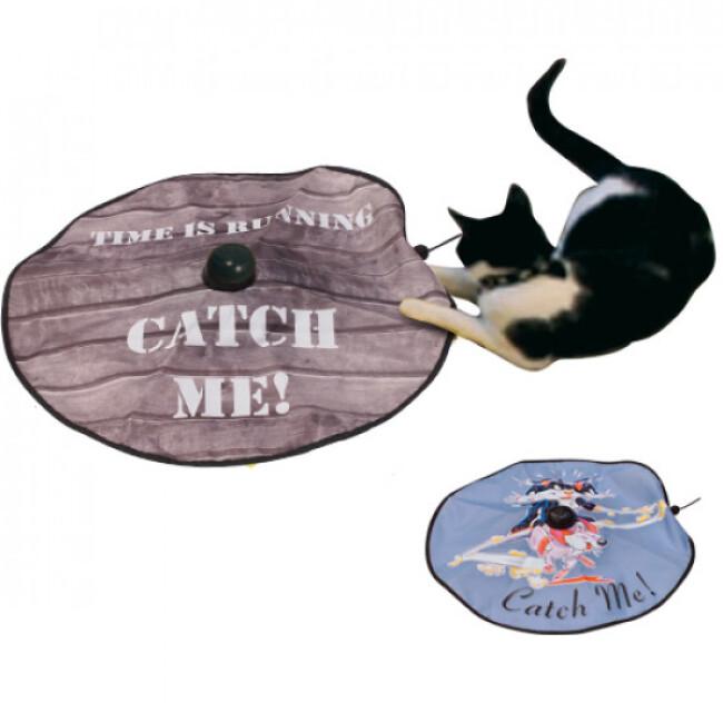 Undercover mousse jeu mobile pour chat