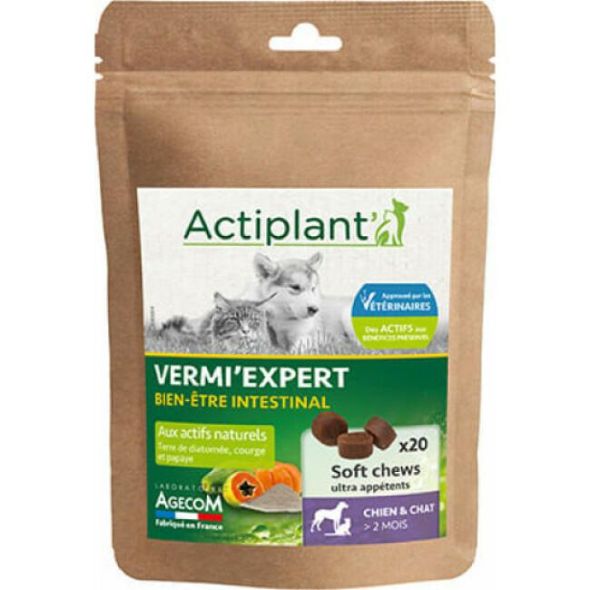 Vermi Expert boulettes appétentes Actiplant