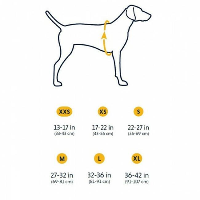 Veste molletonnée pour chien Powder Hound Ruffwear