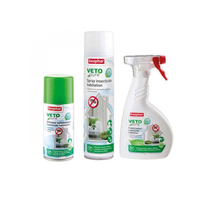 Véto nature insecticide larvicide antiparasitaire pour habitation