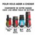 Image 5 - Botte Kn'1® Active PHSH protection des pattes de chien en lieu humide