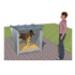 Image 1 - Box d'attente pour chien toiture isolée