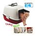 Image 1 - Box maison toilette Tamis Magix pour litière de chat