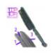 Image 3 - Brosse en caoutchouc ramasse poils pour nettoyage des textiles Trixie