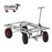 Image 1 - Chariot tout terrain de luxe pour transport de cage de chien et chat
