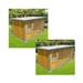 Image 3 - Chenil en bois éleveur résidence junior pour chien & chat