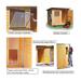 Image 4 - Chenil en bois éleveur résidence junior pour chien & chat