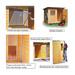 Image 4 - Chenil en bois super éleveur résidence pour chien & chat