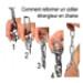 Image 3 - Collier étrangleur pour chien chaîne petite maille
