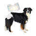 Image 1 - Couche culotte jetable blanche pour incontinence pour chienne