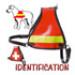 Image 1 - Harnais d'identification pour chien